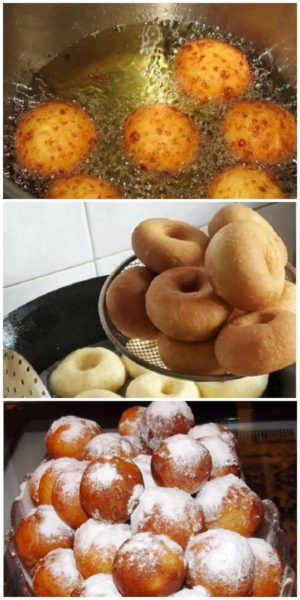 Свекровь научила меня «настоящим» пончикам. ЛУЧШИЕ ИЗ ТЕХ, ЧТО Я ПРОБОВАЛА!