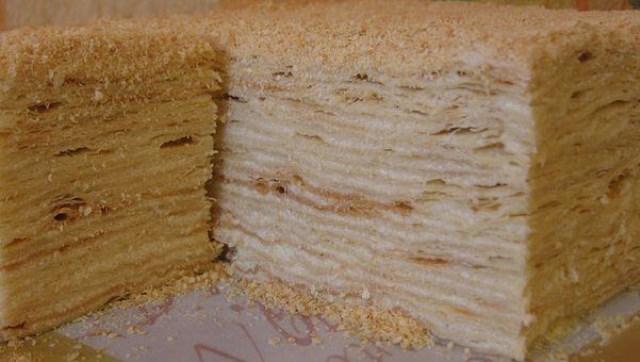 """Обалденный торт """"Наполеон"""". Воздушный и нежный, как облако!"""