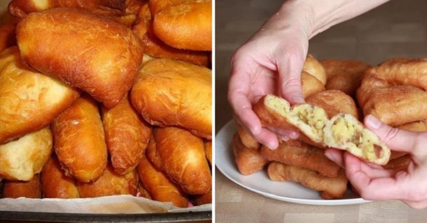 Мамин рецепт! Творожные пирожки с картошкой