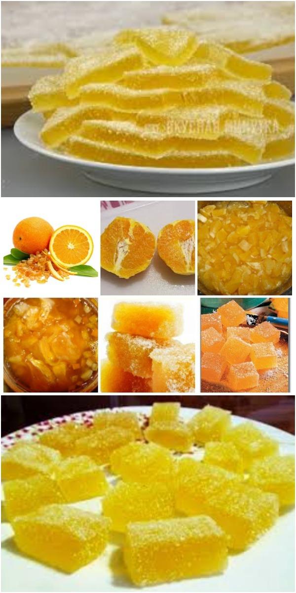 Апельсиновый мармелад - вкуснятина нереальная