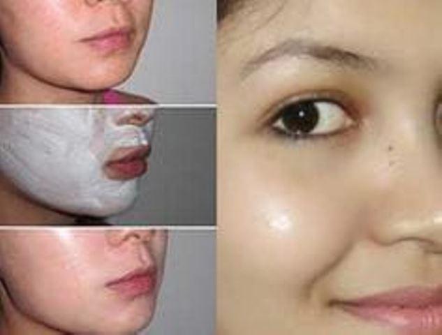 Китайская маска красоты из меда крахмала и соли, которая питает, выравнивает тон кожи, заметно уменьшает проявления пигментных пятен.