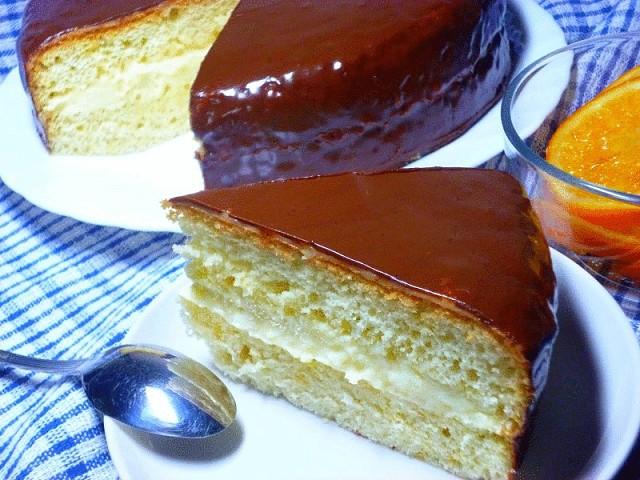 """Такой простой и невероятно вкусный тортик """"Волшебница"""""""