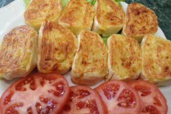 Картофельная закуска из лаваша.