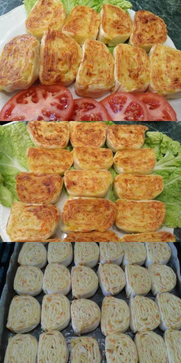Картофельная закуска из лаваша