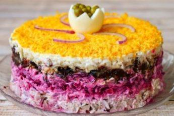 Праздничный салат «Граф»: серьезный конкурент всем традиционным салатам!