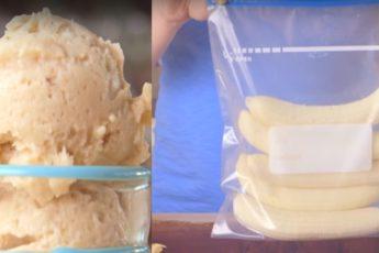 Мороженое из банана - детки будут в восторге