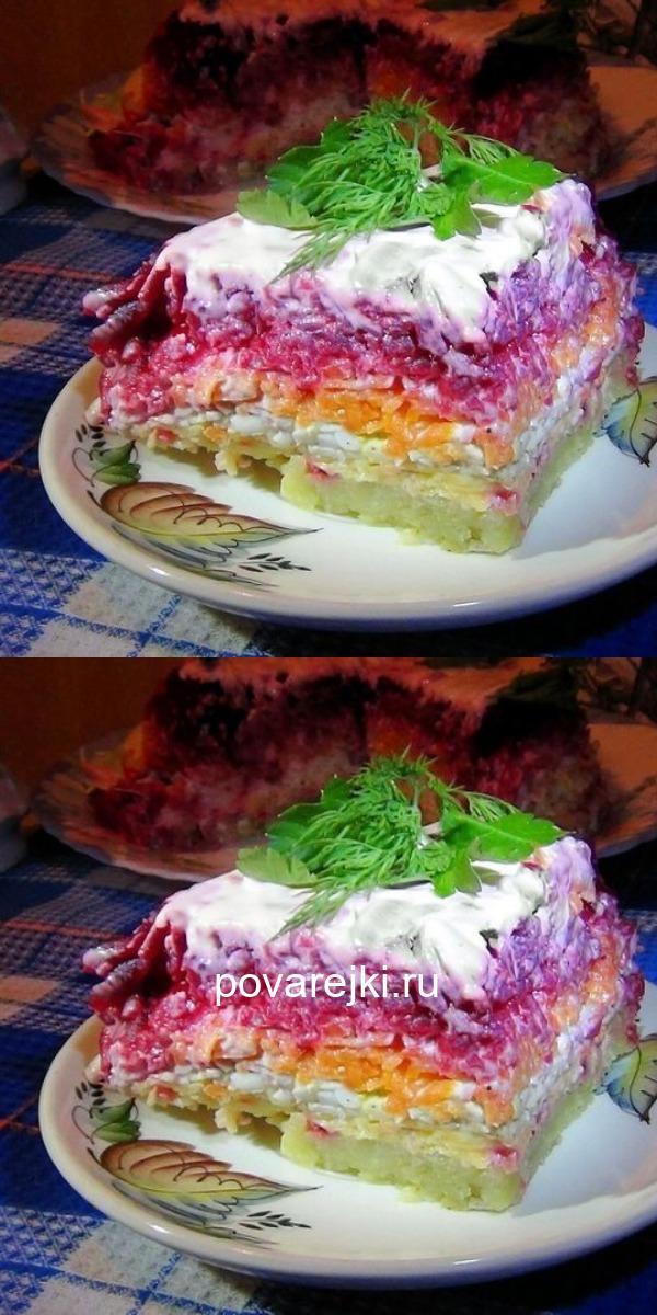 Мамин рецепт самого вкусного салата из свёклы «Генерал». Невероятная вкуснота!