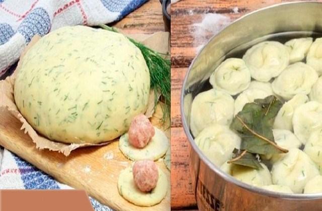 Этот рецепт мне дала одна женщина, которая много лет прожила на Алтае, и с тех пор я делаю тесто для пельменей и вареников только так — на кефире.