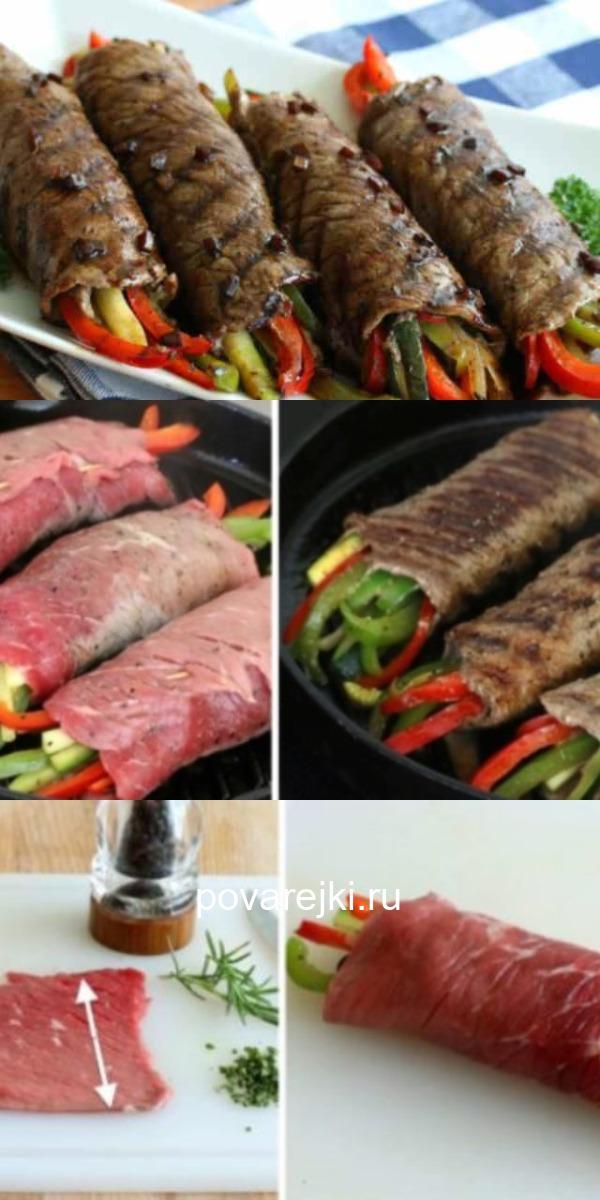 Невероятно аппетитный рецепт глазированных мясных рулетиков.