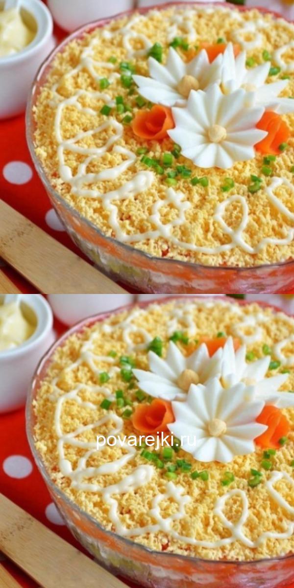 Сытный, полезный, питательный салат с печенью. Всегда заканчивается первым!