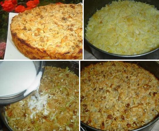 Пирог получается сочным, вкусным и очень яблочным! Вкуснотище