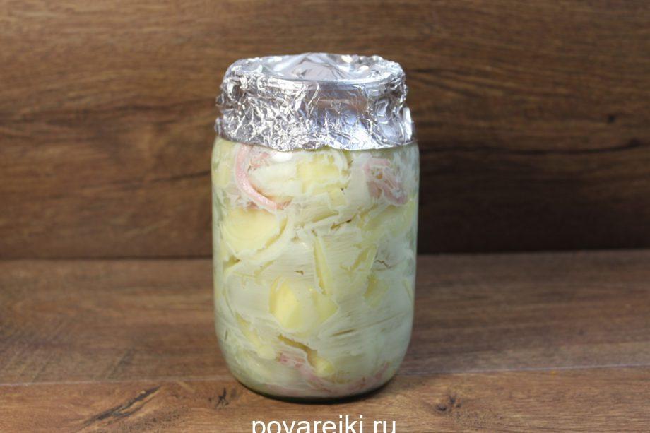 Это самый вкусный картофель в мире! Никакой горшочек и рукав не сравнится с БАНКОЙ!
