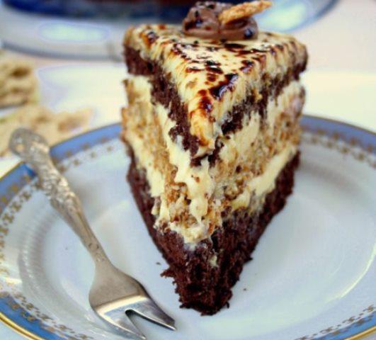 Торт «Халва». Очень необычно и неповторимо вкусно!