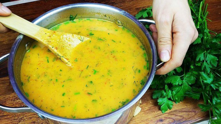Новый суп с секретом, который нравится всем! Я Влюбилась в этот супчик!