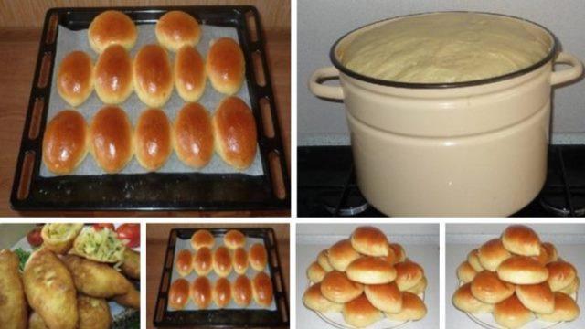 Обалденное домашнее тесто для пирожков.