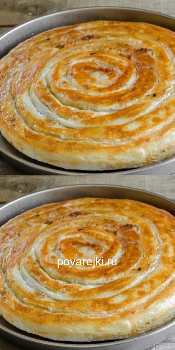 Оригинальный, очень красивый пирог с мясом из тонкого лаваша. Вкуснятина!