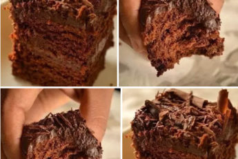 Супер-влажный шоколадный пирог (без яиц) — царь выпечки