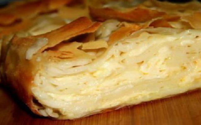 Всем-всем сыроманам. Безупречный сабурани! Пирог божественно вкусен!