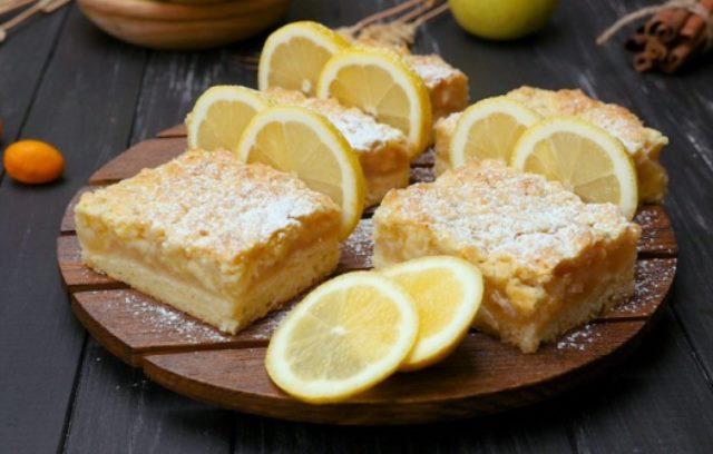 Лимонный пирог от Ирины Аллегровой.