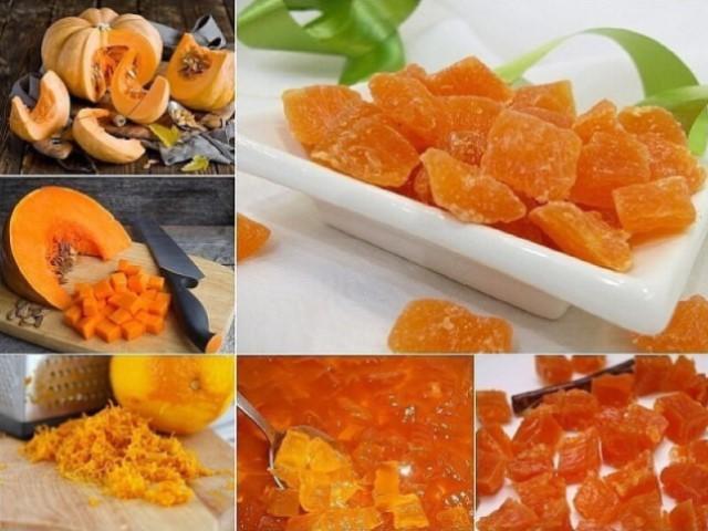 Осенний деликатес — цукаты из тыквы.