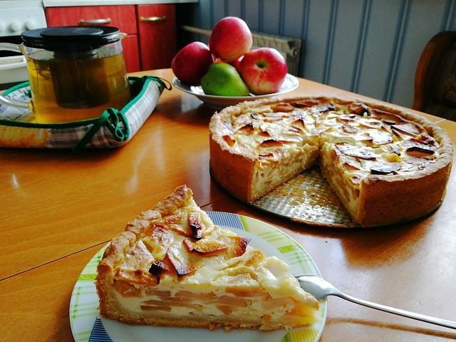 Цветаевский яблочный пирог. Невероятно вкусный и простой в приготовлении яблочный пирог!
