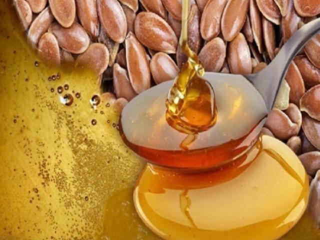 Мёд + семена льна = чистое удовольствие для ЖКТ! Очищаем кишечник, укрепляем сосуды и не только...!