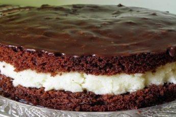 Бюджетный, простой и в то же время очень вкусный торт «Баунти» 1