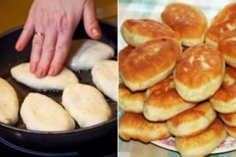 Всего из пакета кефира вы сможете приготовить целую гору пышных пирожков 1